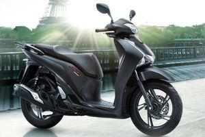 Bảng giá xe máy Honda mới nhất tháng 1/2019: SH 300i 2019 màu đen mờ giá đề xuất 270 triệu đồng