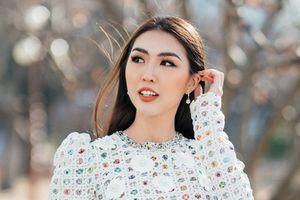 Hoa hậu Tường Linh khoe vẻ đẹp dịu dàng giữa trời đông Hàn Quốc
