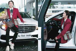 Duy Khánh mua xe tiền tỷ tự tặng mình nhân sinh nhật