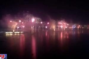 CLIP: Màn bắn pháo hoa ở UAE phá vỡ kỷ lục thế giới