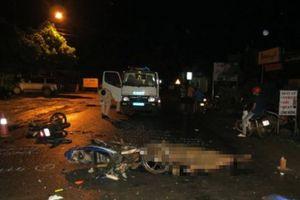 Hai xe máy tông nhau trên QL27, 2 thanh niên tử vong