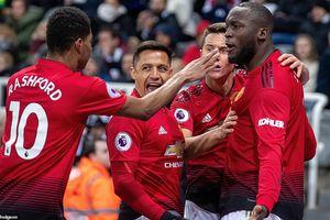 Lukaku và Rashford 'bắn hạ' Newcastle, MU rút ngắn khoảng cách với top 4