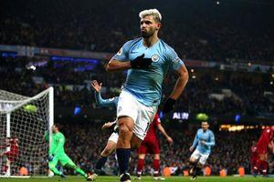 Aguero và Sane ghi bàn, Man City thắng nghẹt thở trước Liverpool