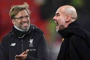 TRỰC TIẾP Man City - Liverpool: Pep Guardiola yếu bóng vía trước Klopp