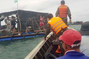 Bão số 1 gây sóng lớn làm một ngư dân mất tích, 8 vỏ lãi bị đánh chìm