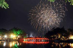 Hà Nội tổ chức bắn pháo hoa, biểu diễn nghệ thuật đêm Giao thừa