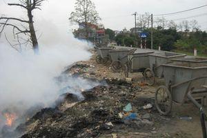 Làng nghề nhuộm, thuộc da ô nhiễm vì rác thải, khói bụi