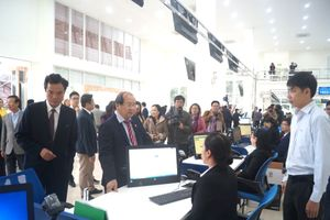 Quảng Ngãi: Khai trương Trung tâm phục vụ hành chính công