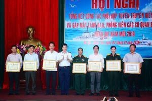 Đẩy mạnh tuyên truyền hình ảnh người chiến sĩ Cảnh sát biển