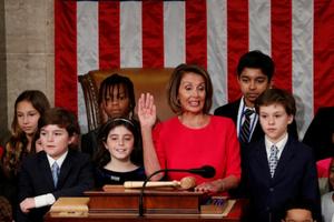Vì sao bà Pelosi mời các vị khách 'nhí' dự lễ nhậm chức Chủ tịch Hạ viện Mỹ?