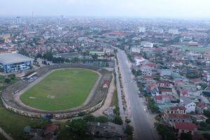 Hà Tĩnh: Đầu tư hơn 50 tỷ đồng nâng cấp sân vận động theo tiêu chuẩn FIFA
