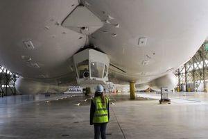 Bên trong máy bay dài nhất thế giới