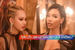 Loại 'sạch' thí sinh đội đối thủ rồi xin lỗi, Phí Phương Anh bị Khả Trang 'mắng': Quá giả tạo!