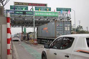 Ngày đầu thu phí qua trạm BOT QL10 đoạn Hải Phòng-Thái Bình