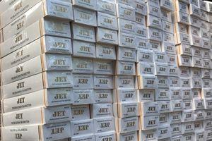 33.000 gói thuốc lá lậu chuẩn bị tiêu thụ cho dịp tết bị bắt giữ