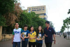 Phương án tuyển sinh của khoa Quốc tế, Đại học Quốc gia Hà Nội 2019
