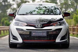 Toyota Yaris phiên bản thể thao GR-S lộ diện