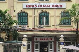 17 bệnh viện thuộc Sở Y tế Hà Nội đảm nhận việc khám sức khỏe cán bộ