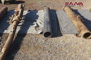 SAA phát hiện kho tên lửa do Mỹ chế tạo của phiến quân ở Homs