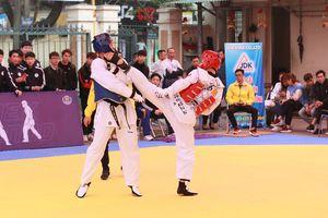 Hà Nội: Giải Taekwondo Đống Đa mở rộng cúp Kona 2018-2019