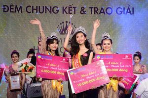 Nguyễn Thị Thanh Khoa đăng quang Hoa khôi Miss HUTECH 2019