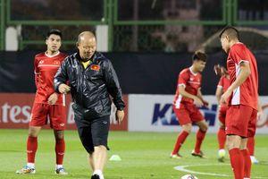 HLV Park Hang Seo: 'Ở Asian Cup 2019, có rất ít đối thủ yếu hơn Việt Nam'