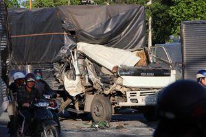 Tai nạn liên hoàn giữa 3 xe tải, 6 người bị thương nặng