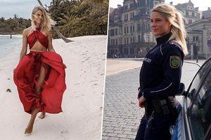 Nữ cảnh sát Đức 'nghiện' khoe ảnh bikini, sở hữu gương mặt đẹp 'không góc chết'