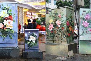 Vẽ hoa lên bốt điện: Nghệ thuật chết người