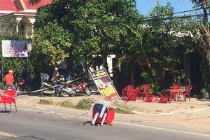 Đang ngồi uống cà phê gần nhà, người đàn ông bị đâm tử vong