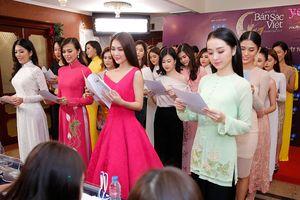 Xuất hiện nhiều gương mặt sáng giá tại vòng sơ khảo Hoa hậu bản sắc Việt toàn cầu 2019 khu vực miền Nam