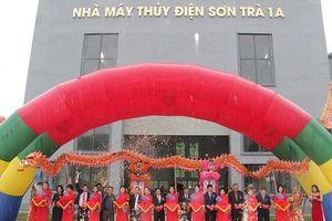 Quảng Ngãi: Khánh thành nhà máy thủy điện Sơn Trà 1