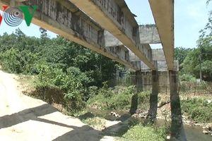 Bắc Kạn: Dở dang những cây cầu tiền tỉ để dây leo trùm kín