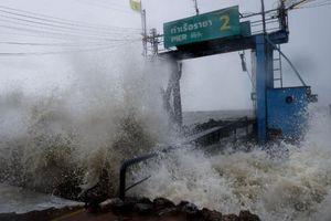 Bão Pabuk đổ bộ Thái Lan, 5 người thiệt mạng