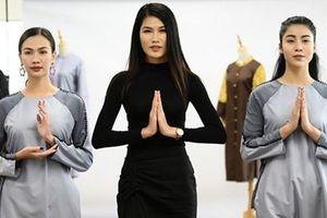 Nhà thiết kế Kim Ngọc ra mắt bộ sưu tập thời trang Phật tử