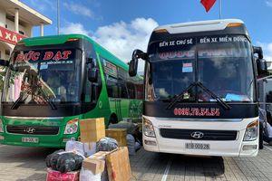 Liên tiếp phát hiện 3 xe khách vận chuyển nhiều hàng hóa không rõ nguồn gốc