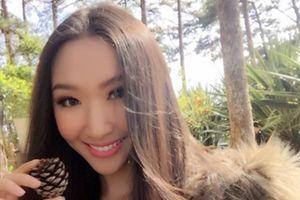 Hoa khôi ĐH Hutech cao 1,75 m, giành nhiều giải thưởng về người mẫu
