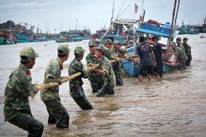 Bão số 1 gây thiệt hại nhiều nơi ở Đồng bằng sông Cửu Long