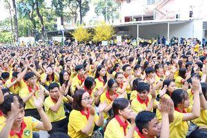 Hàng ngàn bạn trẻ tham gia Chiến dịch Xuân Tình nguyện năm 2019
