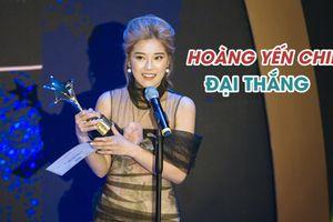 Hoàng Yến Chibi đại thắng tại giải thưởng Ngôi Sao Xanh