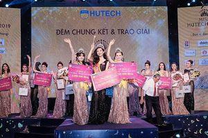 Thanh Khoa đăng quang Hoa khôi Miss HUTECH 2019