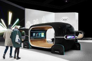 Kia trình diễn hệ thống điều chỉnh nội thất xe theo cảm xúc của hành khách