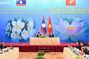 Kim ngạch thương mại hai chiều giữa Việt Nam - Lào đạt trên 1 tỷ USD