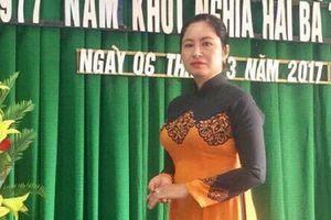 Bình Định: Khởi tố nữ Chủ tịch Mặt trận tổ quốc thị trấn để điều tra tội tham ô