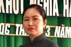 Nữ Chủ tịch Mặt trận thị trấn Phù Mỹ bị khởi tố về hành vi tham ô tài sản