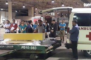 Thi thể 3 khách du lịch trong vụ đánh bom ở Ai Cập được đưa về nhà