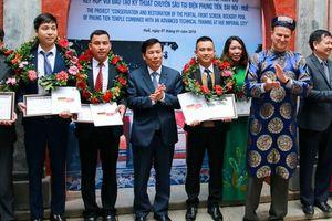 Bộ trưởng Nguyễn Ngọc Thiện dự Lễ bàn giao Dự án bảo tồn, tu bổ di tích tại Điện Phụng Tiên