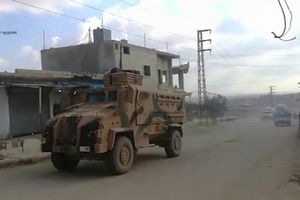 Thổ Nhĩ Kỳ tiếp tục triển khai lực lượng quy mô lớn dọc biên giới Syria