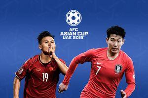 Lịch thi đấu và bảng xếp hạng Asian Cup 2019 ngày 7/1