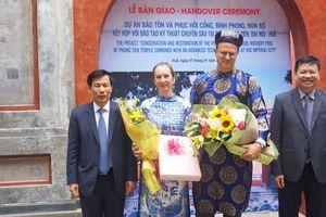 Bộ trưởng Nguyễn Ngọc Thiện đánh giá cao công tác trùng tu di sản của chuyên gia Đức tại Huế
